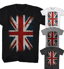 ★T-shirt Union Jack Flagge Vintage Rock Punk UK England Neu S-5XL UJF0515★