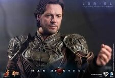 Hot Toys 1/6 Figure 30cm Jor-el Russell Crowe Man of Steel Superman Mms201 RARE