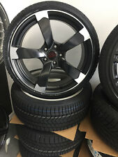 17 Zoll Winterkompletträder 235/55 R17 Winter Reifen für Audi A6 A7 4G Rotor Spo