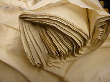 3mts NATURAL 100%COTTON VOILE FABRIC CRAFTS FURNISHING UPHOLSTERY ETC.