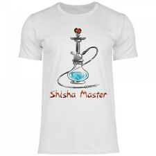Royal Shirt rs121 Herren T-Shirt Shisha Master | Funshirt Tabak lustige Kiffen