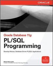 Oracle Database 11g PL/SQL Programming [Oracle Press] , McLaughlin, Michael