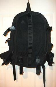 Nike ACG Pendleton Limited Edition Triple Black Karst 40 Laptop Backpack RARE!