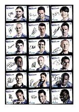 Autogrammkartensatz FC Schalke 04 2009-10 39 Karten Original Signiert(199)