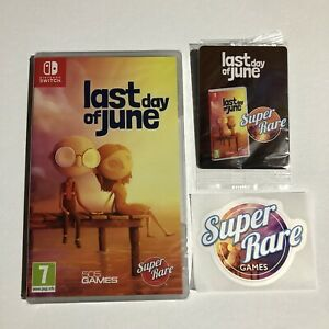 SRG#53: Last Day of June Nintendo Switch Brand New Sealed Super Rare Games