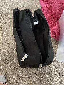 Mens Black Toilet Bag