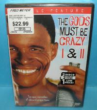 The Gods Must Be Crazy I (1) & II (2) DVD Set Sealed