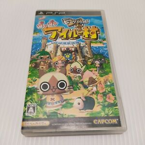 PSP Monster Hunter Diary Poka Poka Airou Village UMD used from japan