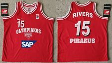 Rivers Olympiacos jersey camiseta canotta trikot maillot basketball euroleague