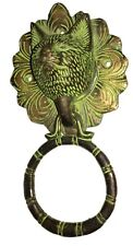 Antique finish Vintage style Brass made WILD CAT designed DOOR KNOCKER India