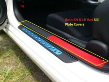 GENUINE 2012-16 Scion FR-S FRS Toyota 86 GT86 BOTH FRONT RED SILL COVER PLATES