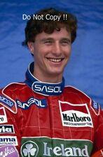 Eddie Irvine Jordan F1 Portrait 1993 Photograph