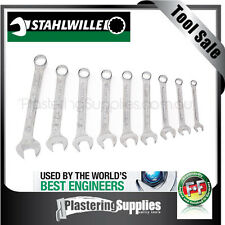 Stahlwille 9 Piece Metric Ring Open End Spanner Set SWVP13/9