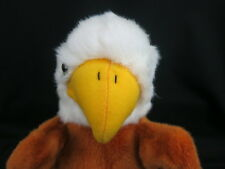 BIG Steven SMITH GOLF HEAD COVER WHITE BROWN EAGLE NATIONAL BIRD PLUSH STUFFED