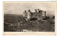 Harlech Castle - Photo Postcard c1910