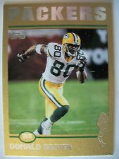 2004 TOPPS FOOTBALL DONALD DRIVER # 287  PACKERS  394/499   BOX 83