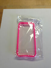 iPhone 5 PINK  Bumper Case, Chrome Buttons, Protective Cover Skin, Pink! New