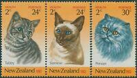New Zealand 1983 SG1320-1322 Health Cats set MNH