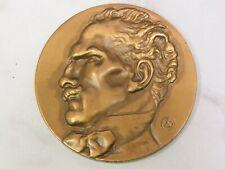 1952 Conductor ARTURO TOSCANINI Bronze Medallion Medallic Art Company New York