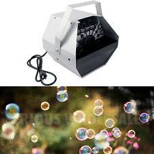 Automatic Deluxe 16 Wand Bubble Maker Machine Auto Blower DJ Party Kids