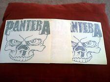 "Pantera 6""x6"" White, Blue or Green Window Sticker"