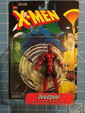 ToyBiz X-Men Deadpool Action Figure Marvel 1998 RARE Toy Biz NIB