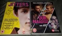 Jitters [Region 2] - DVD & Our Paradise [Region 2] PAL DVD LOT