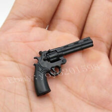 "2PC 1:6 Scale Weapon Toy Model Kohler python 357 revolver Gun F12"" Figure Action"