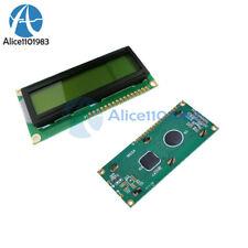2Pcs 1602 16x2 Character LCD Display Modul HD44780 Controller gelb Schwarzlicht