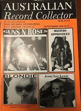 Australian Record Collector Magazine Sept 94 Masters Apprentices GNR Blondie New