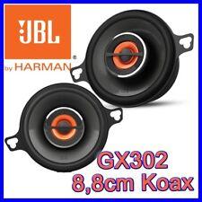 JBL GX302 8cm 2-Wege 8,8cm Koax Lautsprecher BOXEN PAAR AUTO PKW ARMATURENBRETT