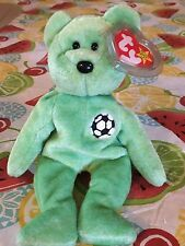 TY rare beanie baby Kicks **multiple tag errors mint condition Collectible *READ