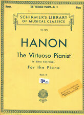 Schirmer's Classical Piano HANON Virtuoso Pianist Book III New! Save 30%
