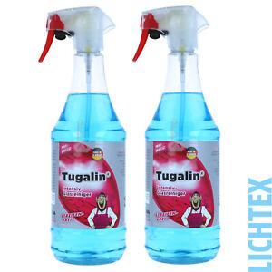 2L TUGA TUGALIN Intensiv-Glasreiniger Phosphatfreier Glasreiniger streifenfrei
