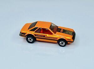 Hot Wheels Blackwall Orange Cobra Turbo Mustang 3 Pack Only Near Mint