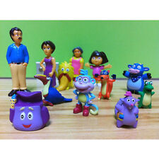 12 pcs Dora The Explorer Figure Set Toy Playset/Cake Topper Figurines of