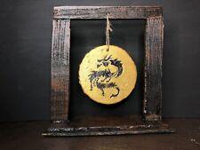 GI Joe Classified Custom Ninja Foam Diorama Martial Arts Dojo Gong Stand