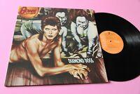 Bowie LP Diamond Dogs Italy Orig 1974 EX+ Gatefold Cover Tooopppp