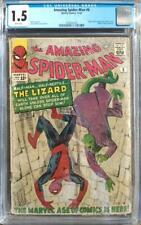 Amazing Spider-Man #6 - 1st Appearance of The Lizard - CGC 1.5