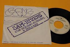 "SAM RIVERS & SCHIANO 7"" 1°ST ORIG ITALY 1974 EX"
