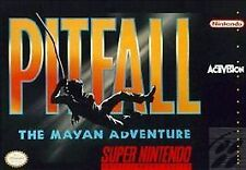 PITFALL THE MAYAN ADVENTURE SNES SUPER NINTENDO GAME COMPLETE IN BOX