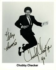 CHUBBY CHECKER Signed Photo