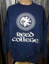 REED COLLEGE Portland sweatshirt XL crewneck Griffin mascot seal Oregon gothic