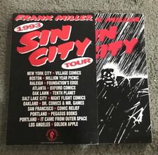 Frank Miller:Sin City Tour Book 1993 Tpb-Graphic Novel-Oop Rare