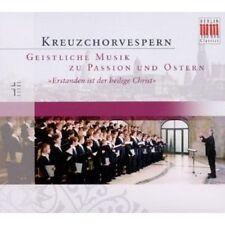 "DRESDNER KREUZCHOR ""KREUZCHORVESPERN,OSTERN"" CD NEUWARE"