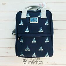 2020 Disney Parks Loungefly Castle Backpack Canvas