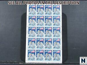 NobleSpirit No Reserve Exciting Moon Landing US No. 2419 MNH Pane of 20 =$100 CV