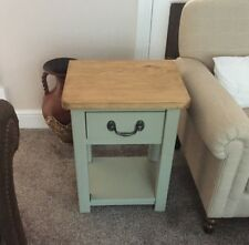 Solid Wood Handcrafted Lamp / Side Table