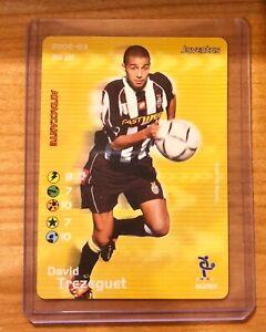 DAVID TREZEGUET - FOOTBAL CHAMPIONS - 2002/2003 - FC JUVENTUS - 052/107