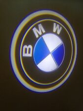 3D CAR /PICK UP WIRELESS  LED LAZER PROJECTOR LIGHTS BMW LOGO BLUE LIGHT Z1AX1